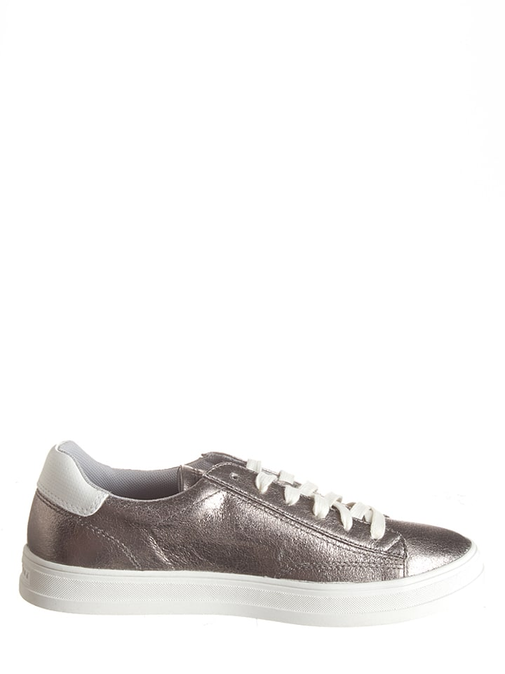 """ESPRIT Sneakers """"Sidney Lace Up"""" in Silber"""