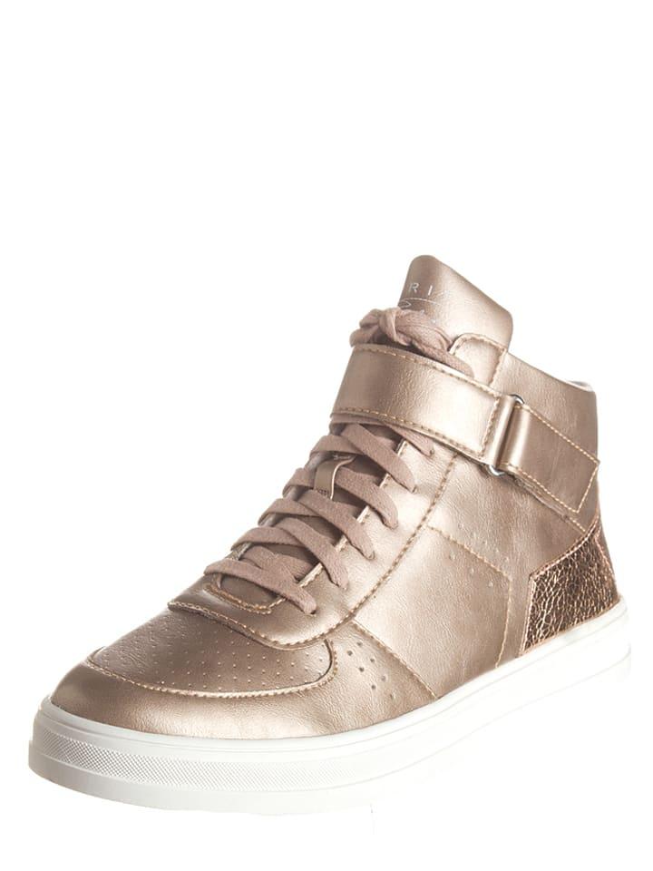 """ESPRIT Sneakers """"Sidney Bootie"""" in Bronze"""