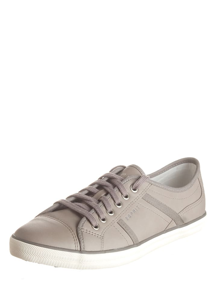 "ESPRIT Sneakers ""Megan Lace Up"" in Grau"