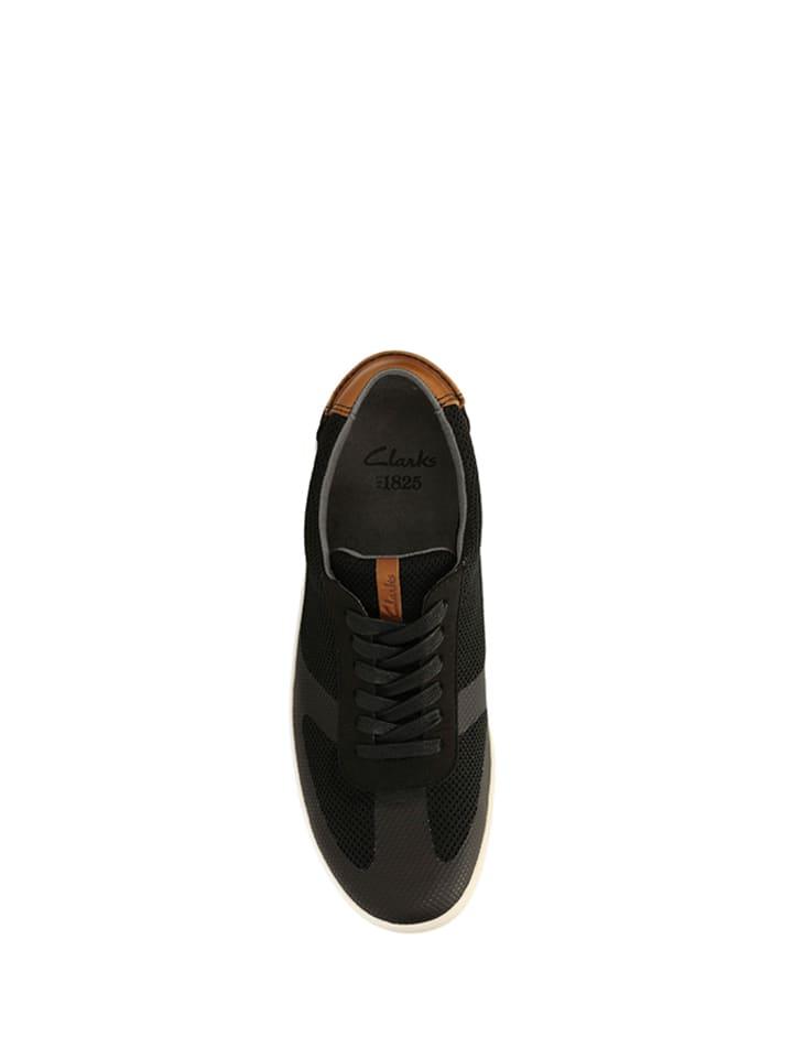 Clarks Sneakers in Schwarz