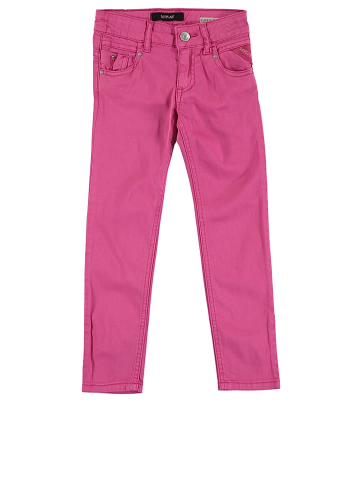 Replay & Sons Hose in Pink