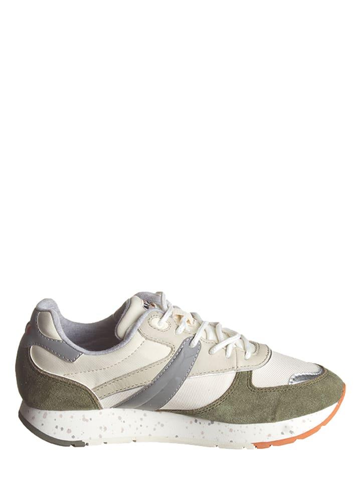 "Napapijri Sneakers ""Rabina"" in Creme/ Khaki"