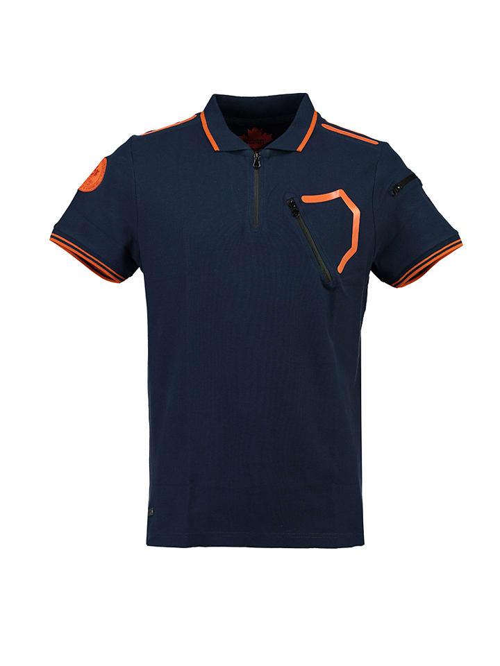 "Canadian Peak Poloshirt ""Koseph"" in Dunkelblau"