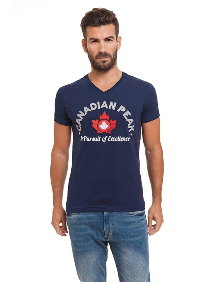"""Canadian Peak Shirt """"Jotta"""" in Dunkelblau"""