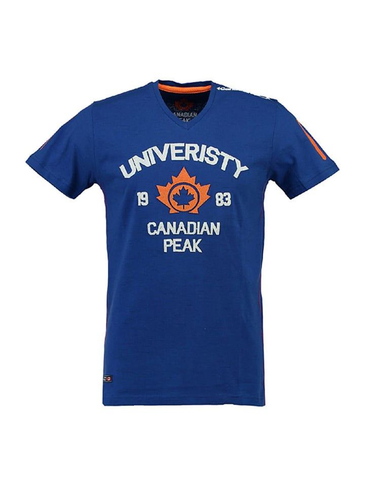 "Canadian Peak Shirt ""Jax"" in Blau"