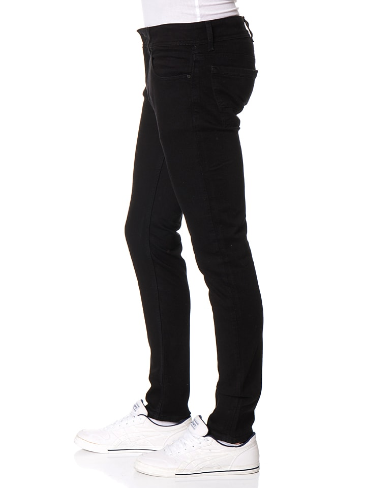 "Cross Jeans Jeans ""Eddie"" - Slim fit - in Schwarz"