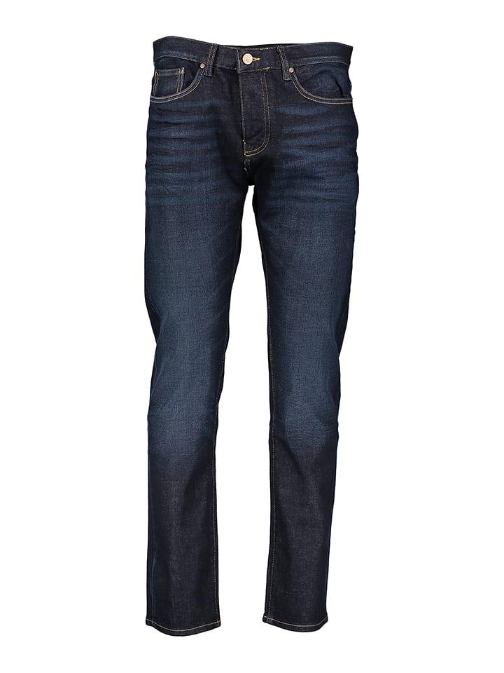 "Cross Jeans Jeans ""Dave"" - Slim Leg - in Dunkelblau"