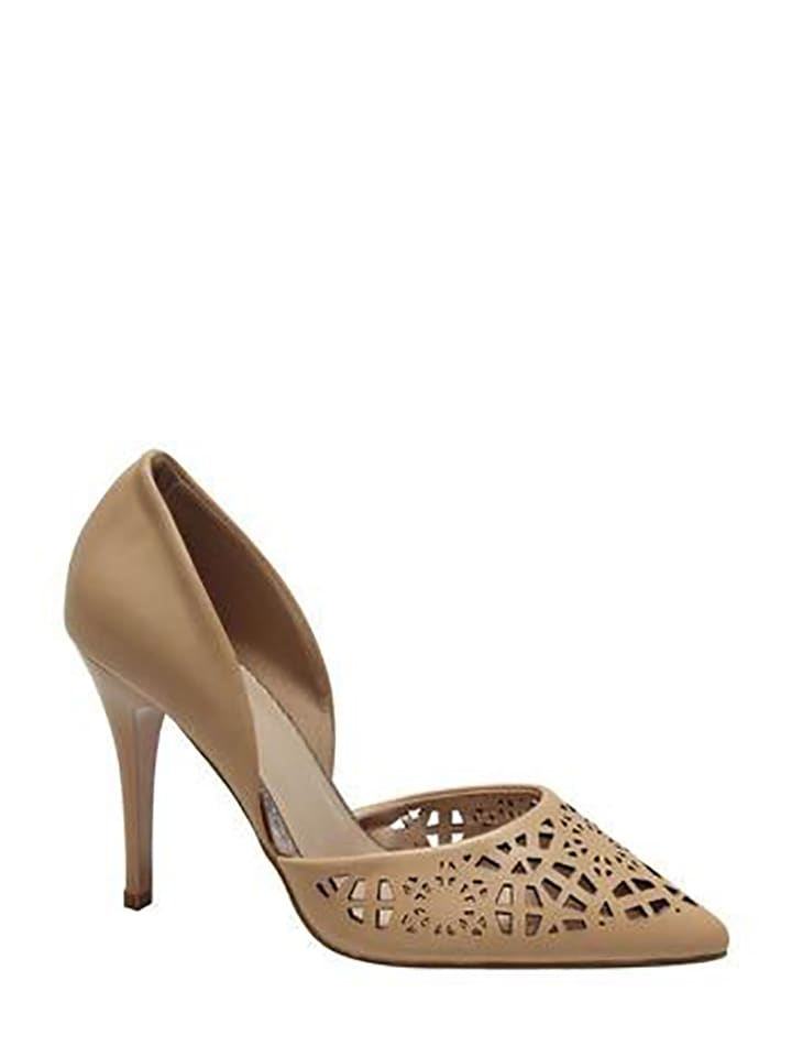 Initiale Paris Pumps in Beige