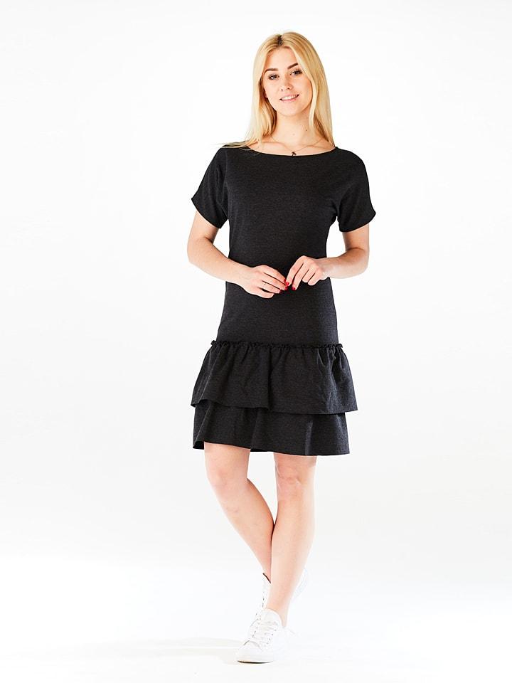 LATOYA Kleid in Dunkelgrau