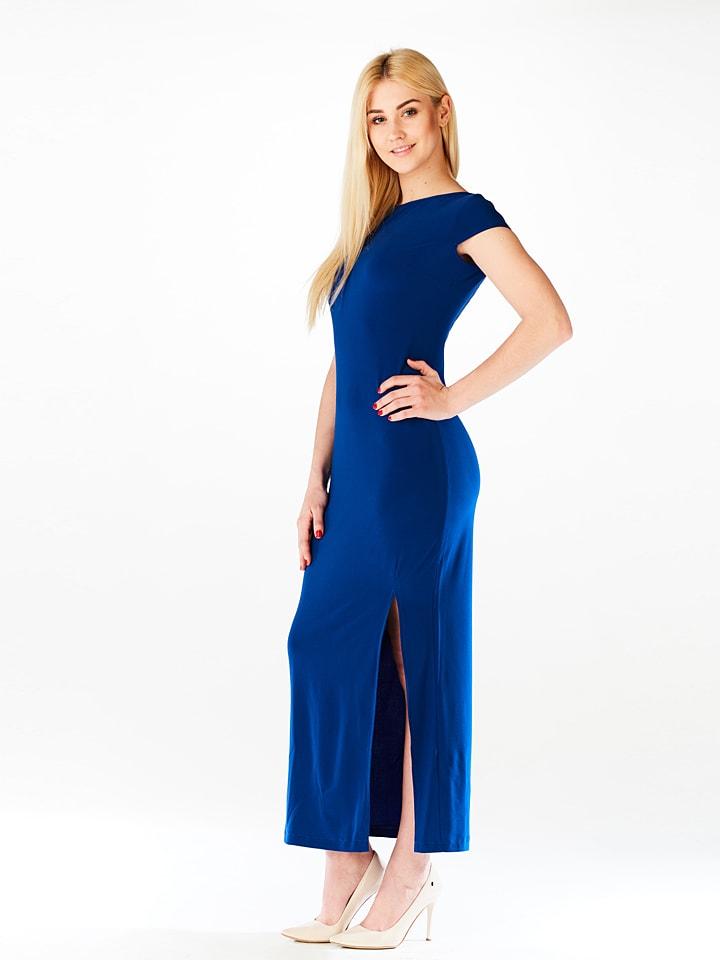 LATOYA Kleid in Blau