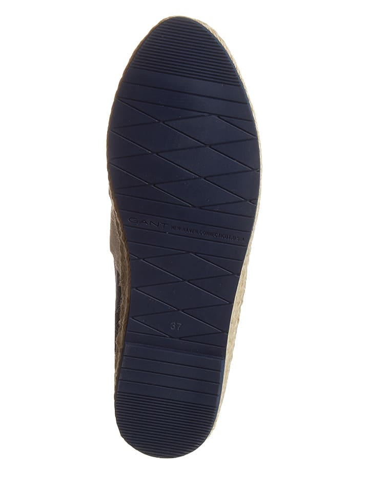 "GANT Footwear Espadrilles ""Krista"" in Dunkelblau/ Creme"