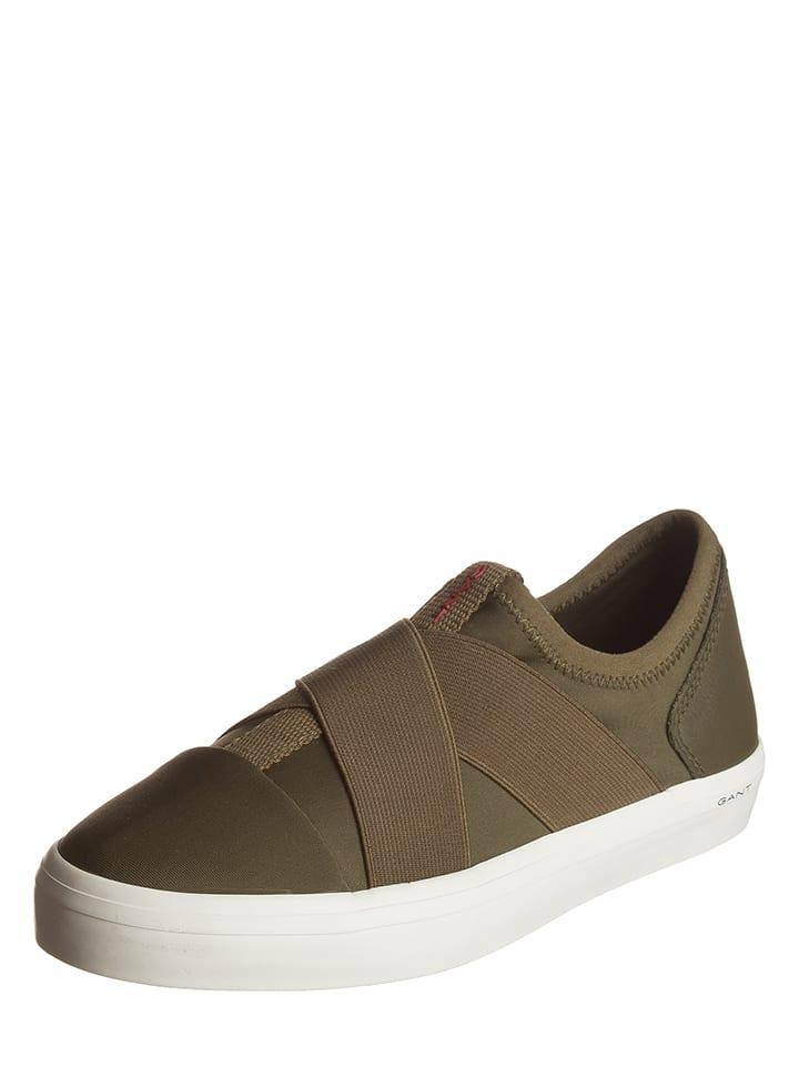 "GANT Footwear Slipper ""Mary"" in Khaki"