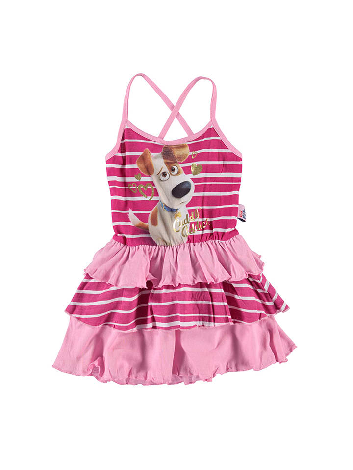 """The secret life of pets Kleid """"The secret life of pets"""" in Fuchsia/ Rosa"""