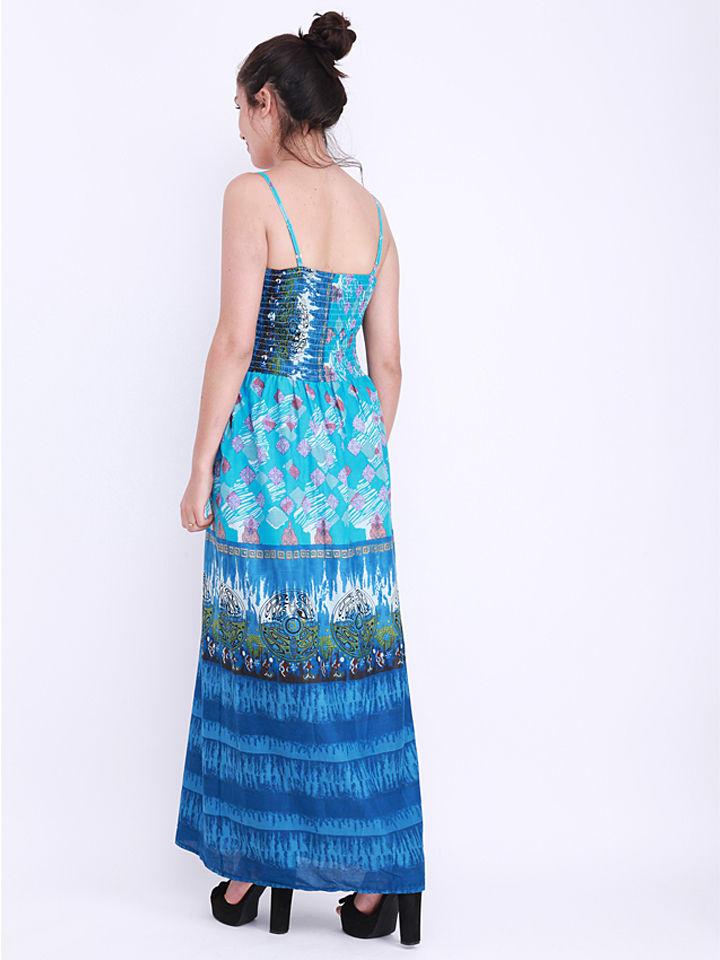 Anmol Kleid in Blau