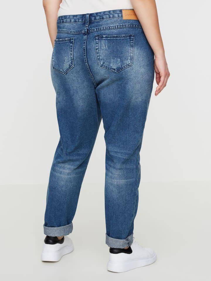 """JUNAROSE Jeans """"Sianna"""" - Boyfriend fit - in Blau"""