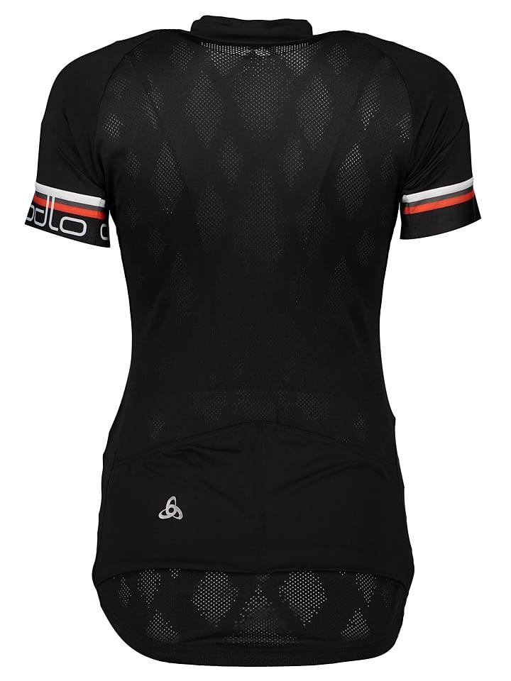 "Odlo Fahrradshirt ""Breathe"" in Schwarz"