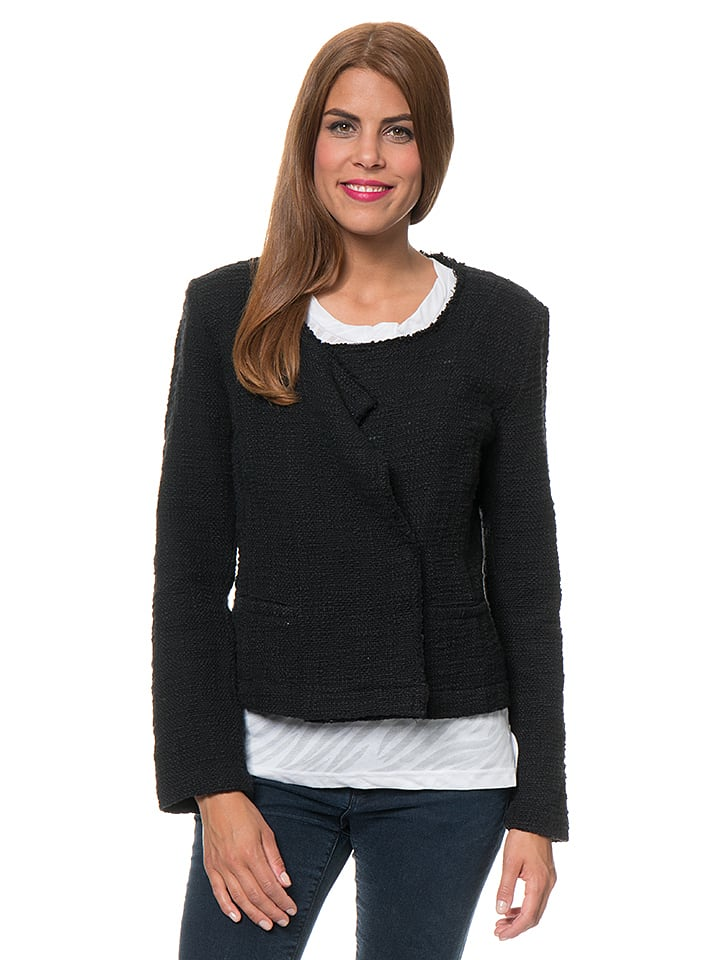 Blue Seven Cardigan in Schwarz
