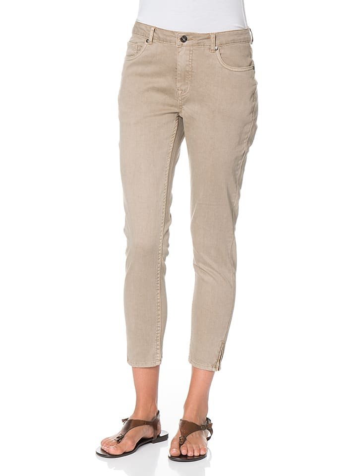 Blue Seven Hose in Taupe