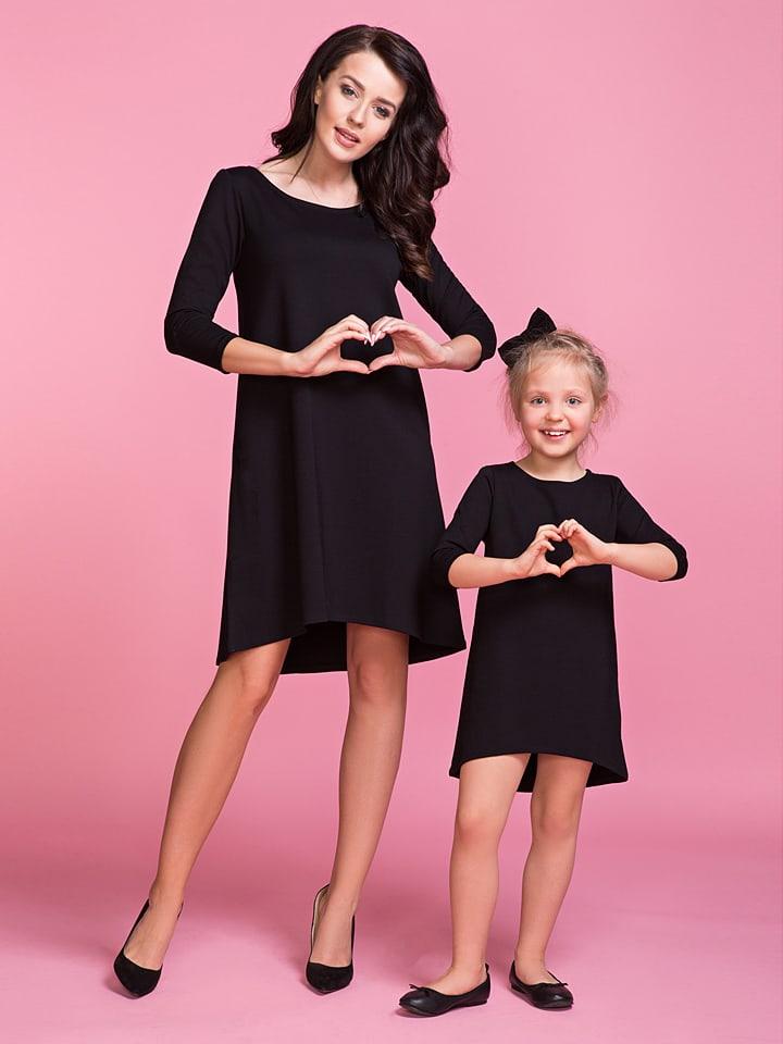 Tessita Kleid in Schwarz