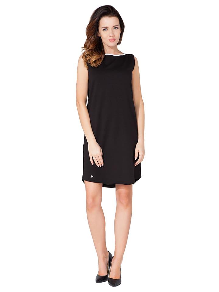 Tessita Kleid in Schwarz/ Weiß