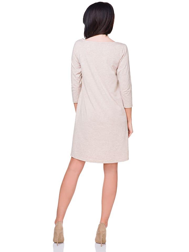 Tessita Kleid in Beige