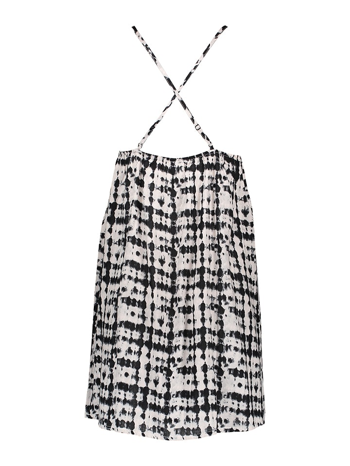 Skiny Kleid in Beige/ Schwarz