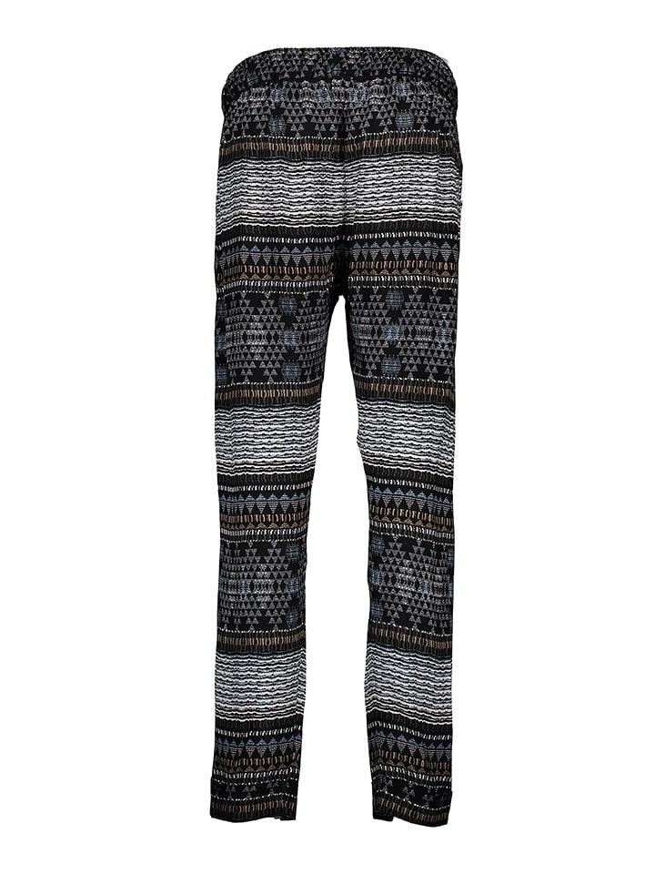 Skiny Hose in Schwarz/ Bunt