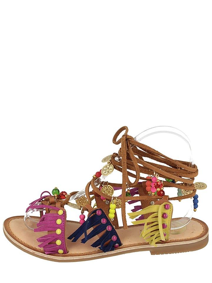 """Gioseppo Leder-Sandalen """"Navajos"""" in Bunt"""