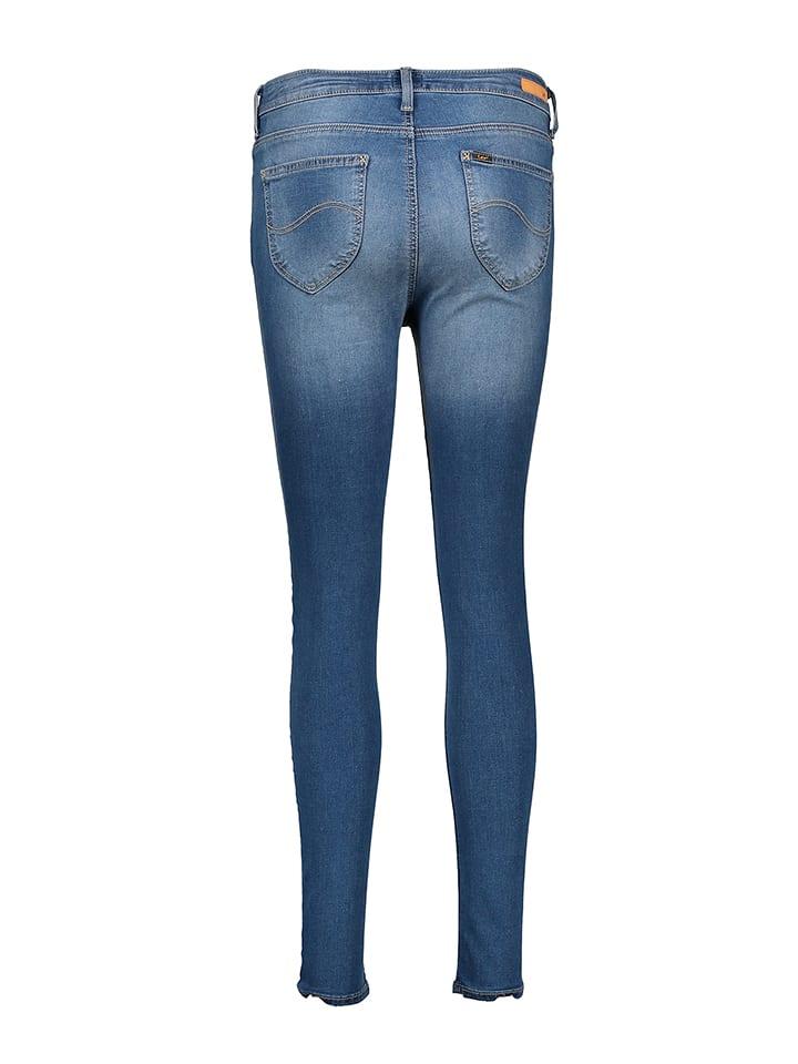 """Lee Jeans Jeggings """"Skyler"""" - High waist in Blau"""