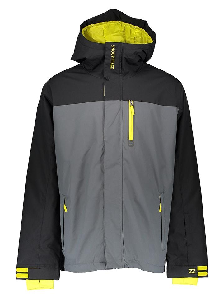 "Billabong Ski-/Snowboardjacke ""Legend Plain"" in Grau/ Schwarz"