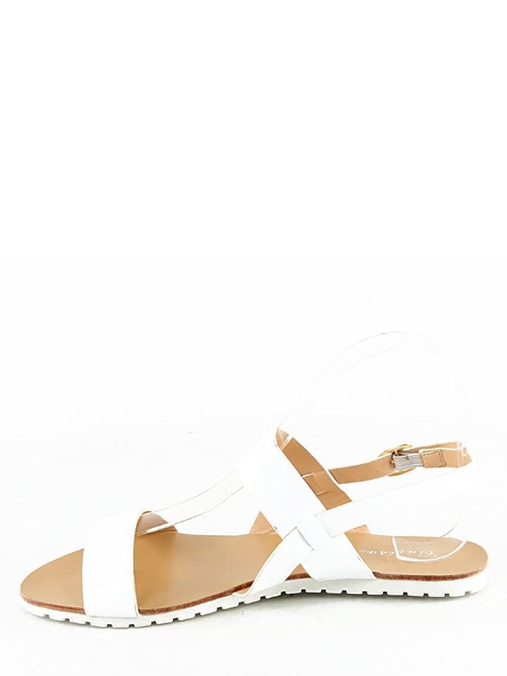 Catisa Sandalen in Weiß