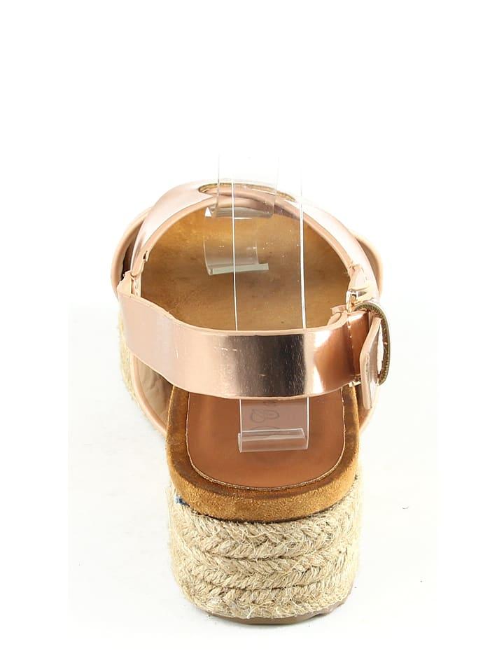 Catisa Sandaletten in Champagner