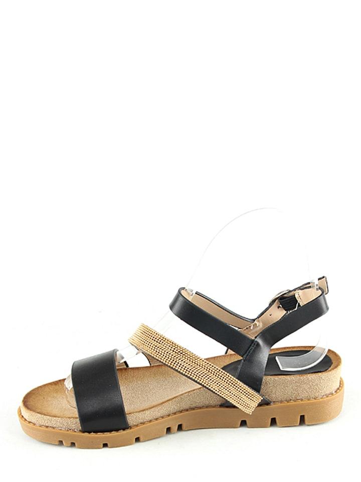 Catisa Sandaletten in Schwarz