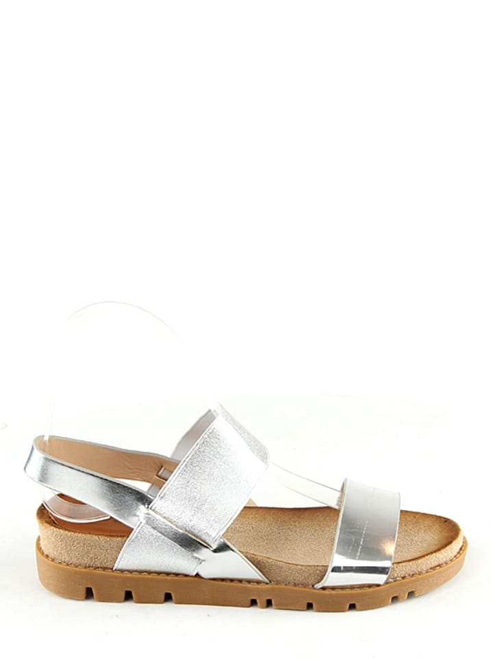 Catisa Sandaletten in Silber