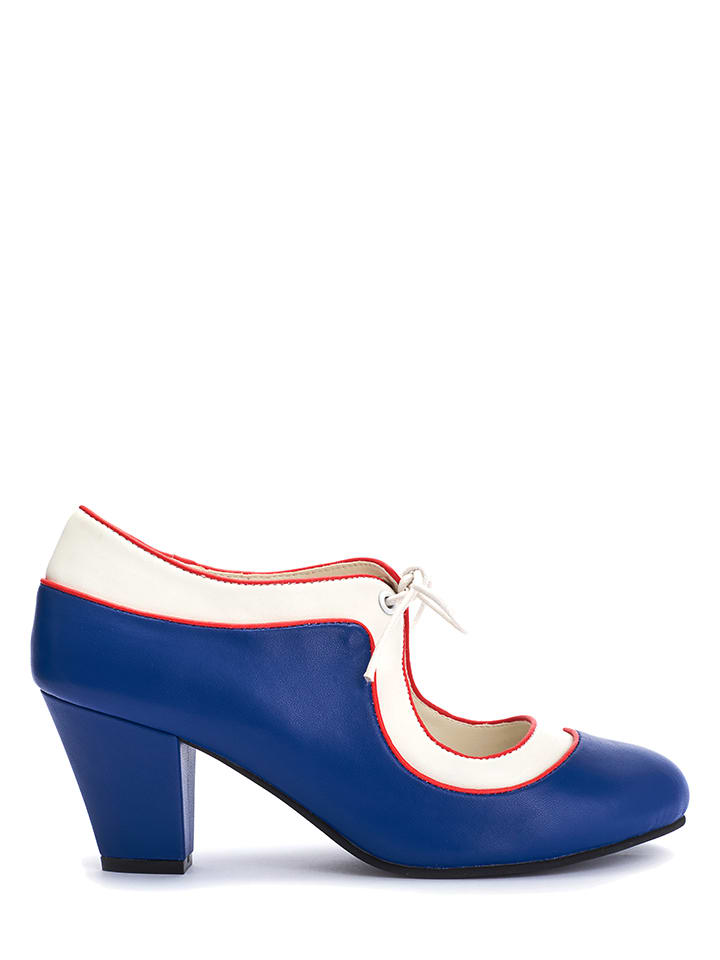 "Lola Ramona Pumps ""Elsie"" in Blau"