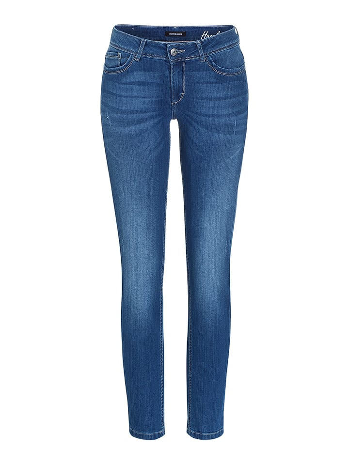 More & More Jeans in Blau