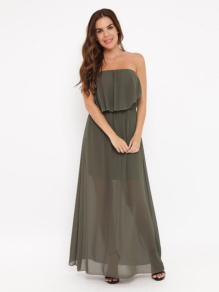 "Madison Harmonie Kleid ""Paula"" in Khaki"