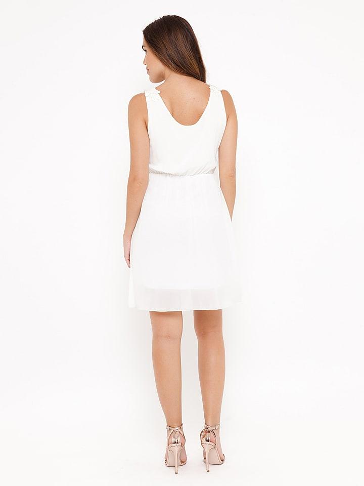 """Madison Harmonie Kleid """"Patricia"""" in Weiß"""