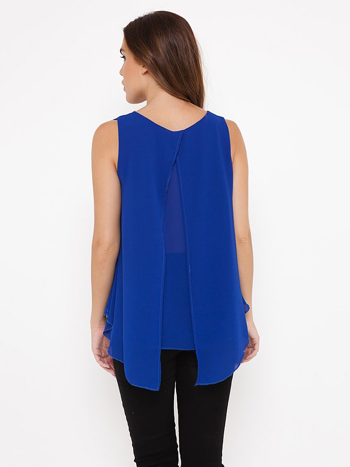"Madison Harmonie Top ""Myriam"" in Blau"