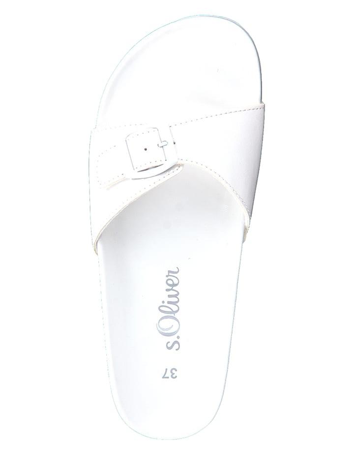 S. Oliver Pantoletten in Weiß