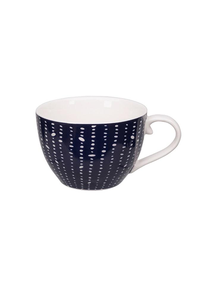 Tokyo Design Studio Filiżanka w kolorze niebiesko-białym do kawy - 170 ml