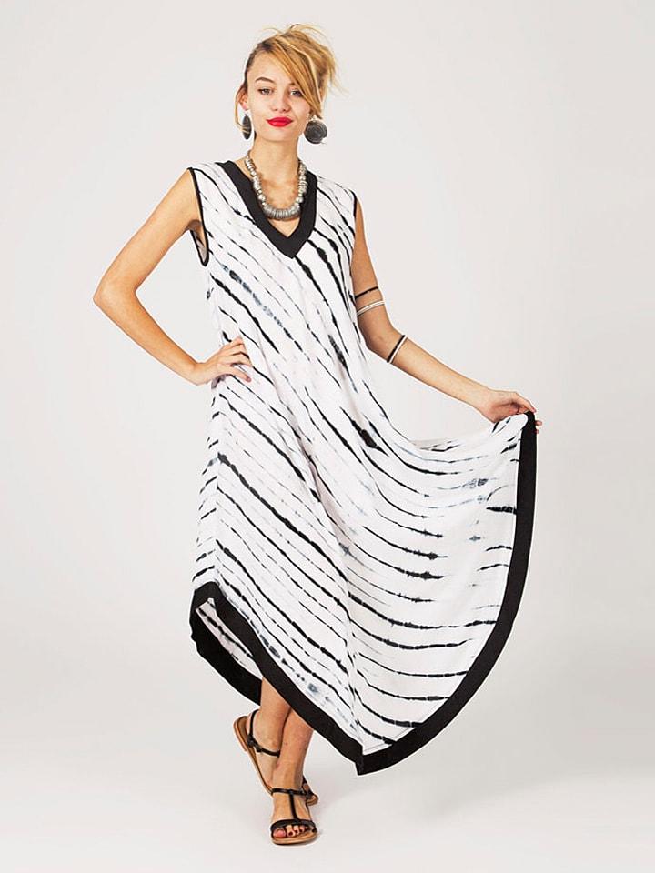 Ipanima Kleid in Schwarz/ Weiß