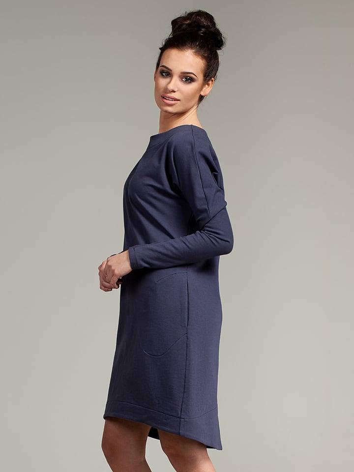 Bewear Kleid in Dunkelblau