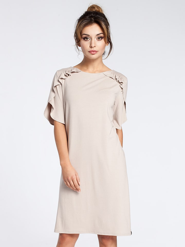 Bewear Kleid in Beige