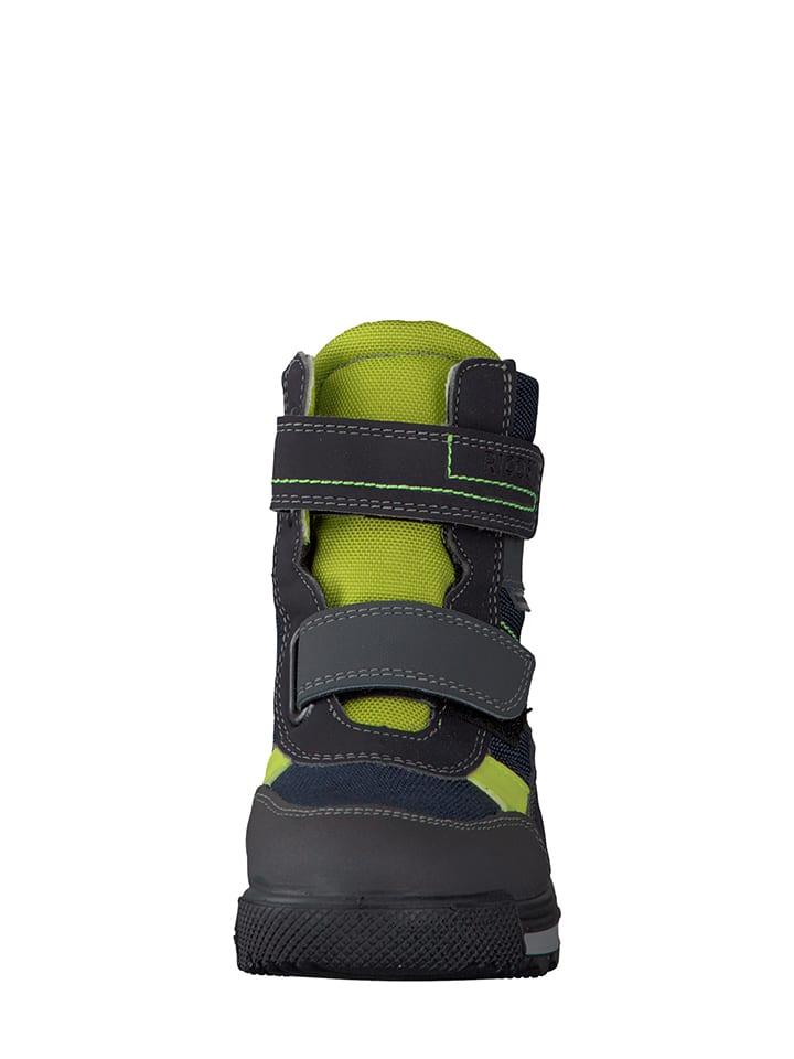 Ricosta Boots Kiehl in Blau/ Grün