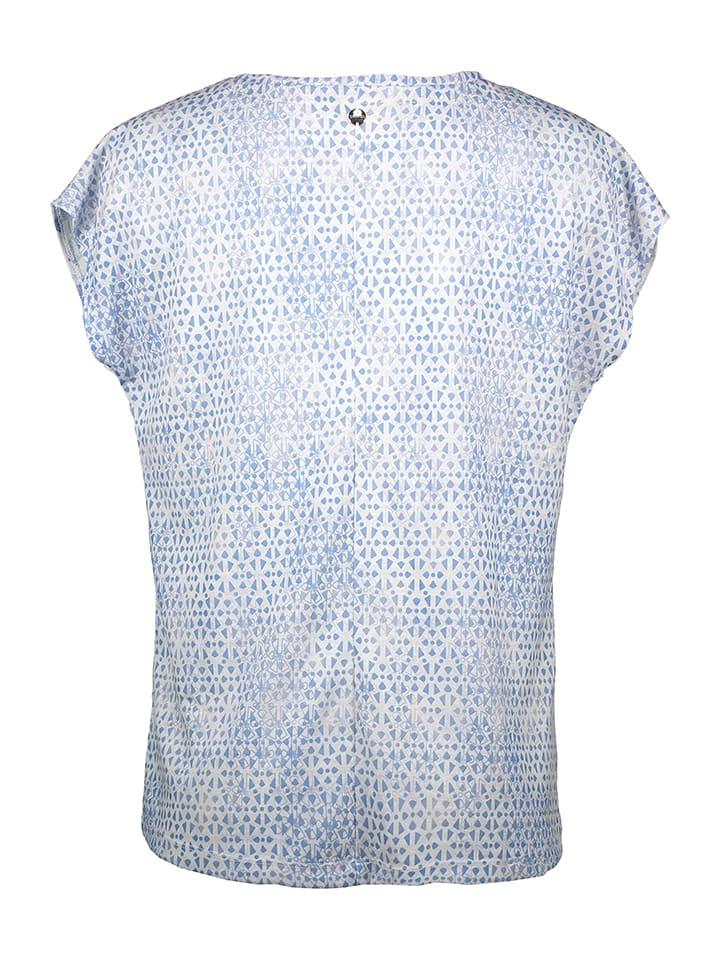 TAIFUN Shirt in Hellblau