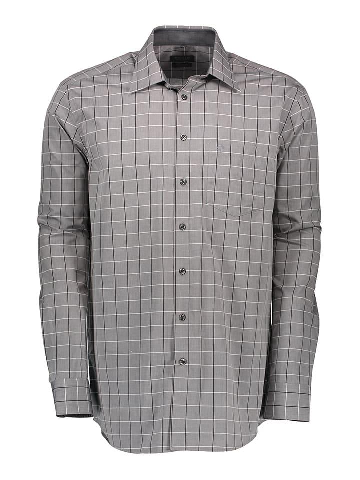 Schiesser Hemd in Grau