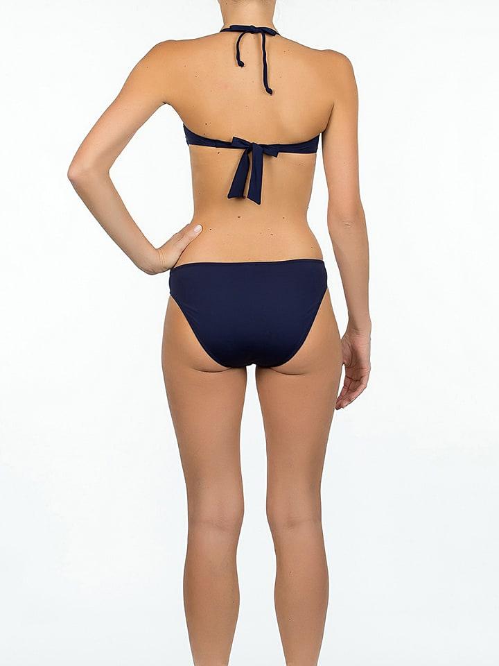 "Beach panties Bikini-Oberteil ""Amalfi"" in Dunkelblau"