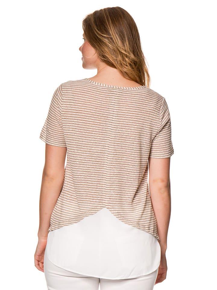 SAMOON Shirt in Beige