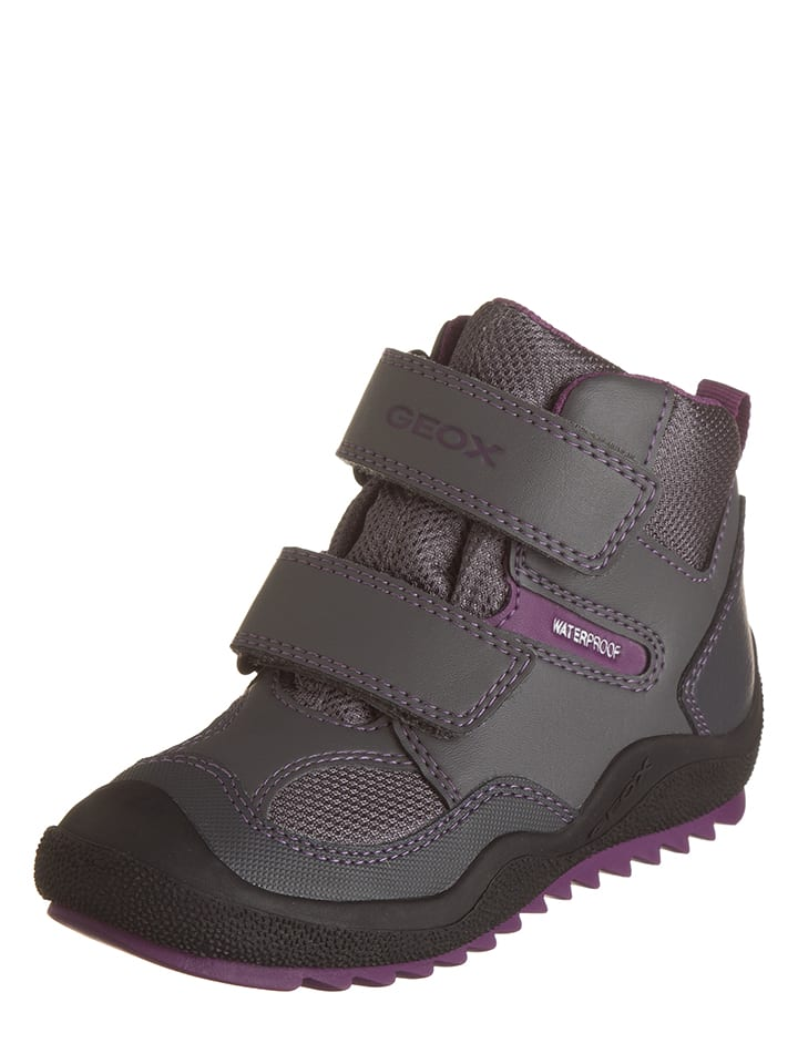 "Geox - Boots ""Athiss"" - Gris/Violet 